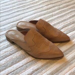 Never been worn Mi.Im western mules. 8.5